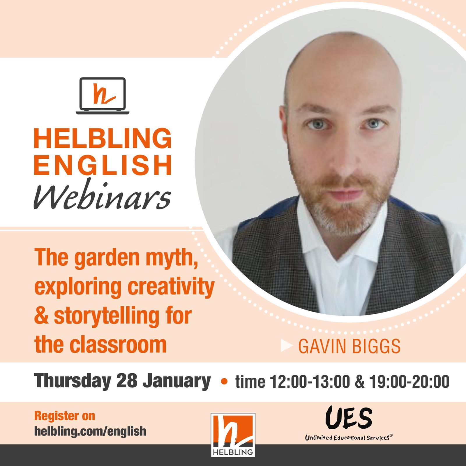 Gavin Biggs – Helbling English Webinars