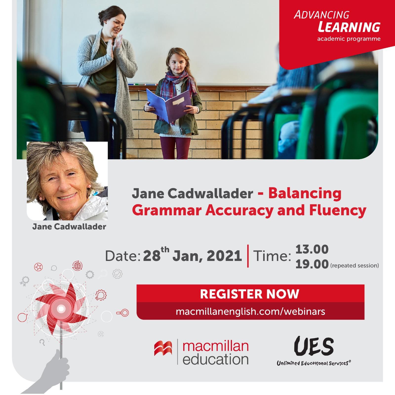 Jane Cadwallader – Balancing Grammar Accuracy and Fluency