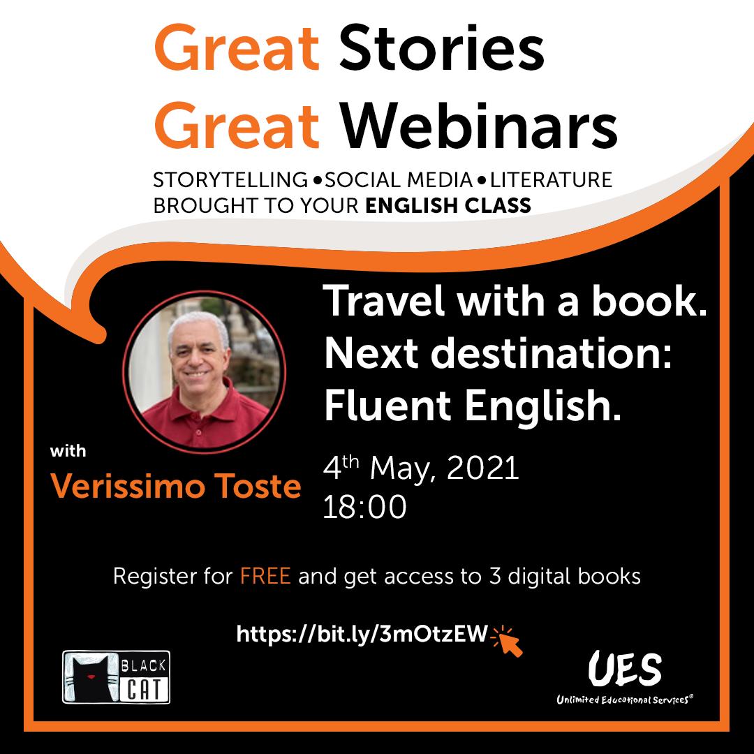 Black Cat Webinars – Travel with a book
